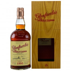 Glenfarclas 1995/2017 The Family Cask - Cask No. 2292 - Sherry Hogshead