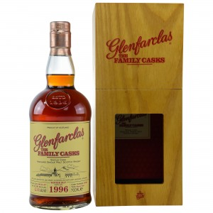 Glenfarclas 1996/2017 The Family Casks - Cask No. 1498 - Sherry Butt
