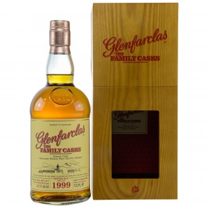 Glenfarclas 1999/2017 The Family Casks - Cask No. 7458 - 4th Fill Butt