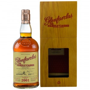 Glenfarclas 2001/2017 The Family Casks - Cask No. 3352 - Refill Sherry Butt