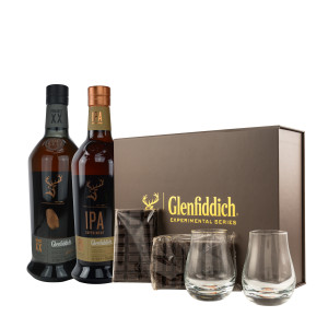 Glenfiddich Set: Project XX, IPA & Schokoladenpairing-Box