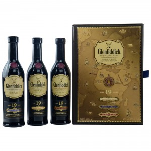 Glenfiddich Age of Discovery Probierset (3x200ml)