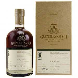 Glenglassaugh 1986/2016 Single Cask No. 1393 - Rare Cask Batch 3