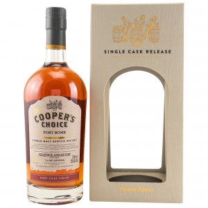 Glenglassaugh Port Bomb Cask No. 9358 (The Coopers Choice)