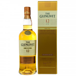 Glenlivet 12 Jahre First Fill American Oak Casks - Exclusive Edition