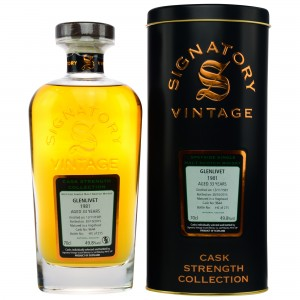 Glenlivet 1981/2015 Cask No. 9644 Hogshead (Signatory Cask Strength Collection)