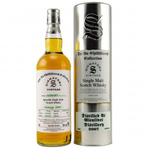 Glenlivet 2007/2018 Cask No. 900255 (Signatory Un-Chillfiltered Collection)