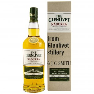 Glenlivet 16 Jahre Nadurra Cask Strength Batch #0814D