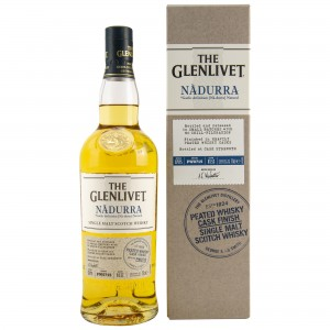 Glenlivet Nadurra Cask Strength Peated Whisky Cask Finish