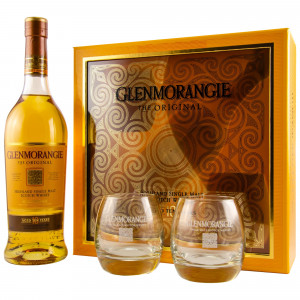 Glenmorangie 10 The Original Set mit 2 Gläsern