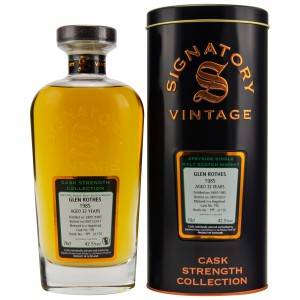 Glenrothes 1985/2017 Cask No. 795  (Signatory Cask Strength)