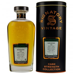 Glenrothes 1990/2017 Cask No. 19018 (Signatory Cask Strength Collection)