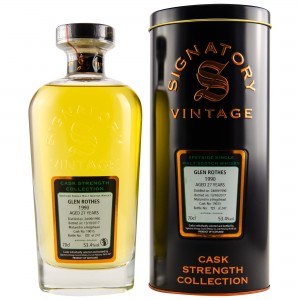 Glenrothes 1990/2017 Cask No. 19015 (Signatory Cask Strength Collection)