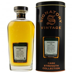 Glenrothes 1996/2018 Casks No. 15131+15132 (Signatory Cask Strength)