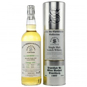 Glenrothes 1997/2018 Cask No. 1755+1756 (Signatory Un-Chillfiltered)