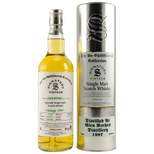 Glenrothes 1997/2018 Casks No. 1749+1750 (Hogsheads) Signatory Un-Chillfiltered)