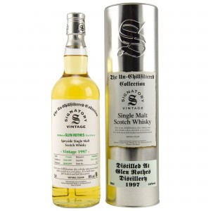 Glenrothes 1997/2018 Cask No. 1751+1752 (Signatory Un-Chillfiltered)