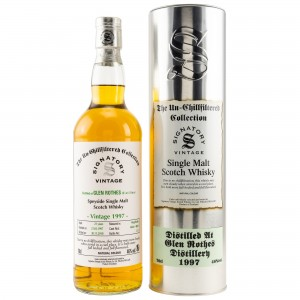 Glenrothes 1997/2018 Casks No. 4824+4829 (Hogsheads) (Signatory Un-Chillfiltered)