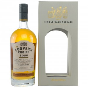 Glenturret 1986/2017 Bourbon Cask Matured Cask No. 343 (Vintage Malt Whisky Company - The Coopers Choice)