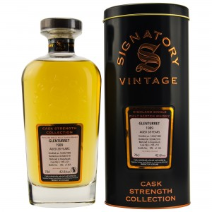Glenturret 1989/2018 Casks No. 220+221 (Signatory Cask Strength)