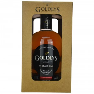 Goldlys 14 Jahre Belgian Whisky Single Cask Mazanilla Finish (Belgien)