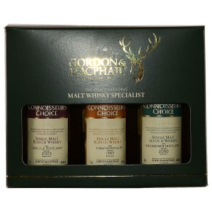 Caol Ila 2004, Tomatin 2002, Inchgower 2005 - Gordon & MacPhail Miniatur Collection