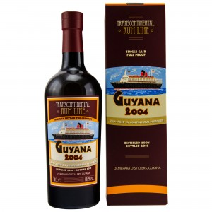 Guyana 2004/2018 14 Jahre Single Cask #71 Transcontinental Rum Line