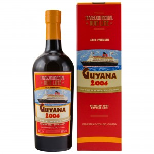 Guyana 2004/2018 Cask Strength Transcontinental Rum Line