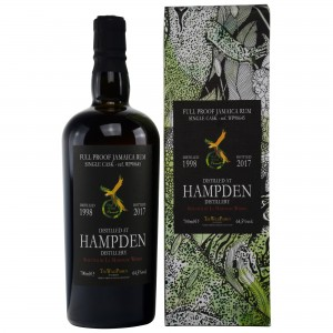 Hampden 1998/2017 19 Jahre The Wild Parrot Single Cask No. WP98645