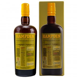 HAMPDEN Estate Pure Single Jamaican Rum (46%)