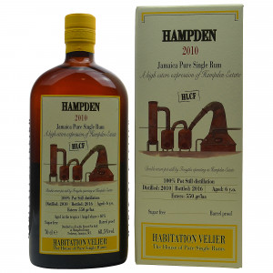 Hampden 2010/2016 Jamaica Pure Single Rum (Habitation Velier)