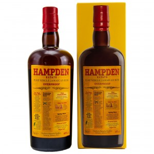 HAMPDEN Estate Overproof Pure Single Jamaican Rum (60%)