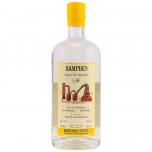 Hampden H Jamaica Pure Single White Rum bottled for Whisky Live Paris 2018 (Habitation Velier)