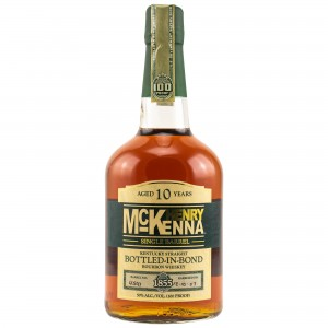 Henry McKenna 10 Jahre Single Barrel Bottled in Bond Kentucky Straight Bourbon Whiskey (USA)