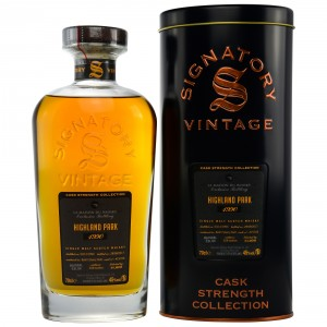 Highland Park 1990/2017 Refill Sherry Butt  15705 (Signatory Cask Strength Collection)