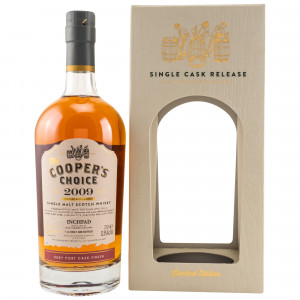 Inchfad (Loch Lomond) 2009/2018 Cask No. 9318 Ruby Port Cask Finish (The Coopers Choice)