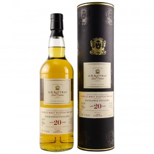 Inchgower 1997/2018 20 Jahre Sherry Hogshead Single Cask No. 8776 Cask Strength (A.D. Rattray)