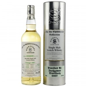 Inchgower 2007/2018 Cask No. 801153+801154 (Signatory Un-Chillfiltered)