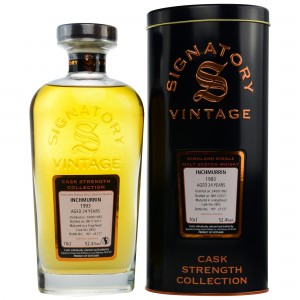 Inchmurrin 1993/2017 - Cask No. 2855 - (Signatory Cask Strength)