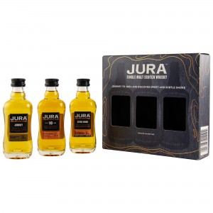 Isle of Jura Mini Set Collection 3 x 5cl Journey / 10 Jahre / Seven Wood