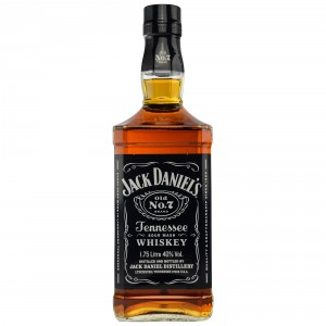 Jack Daniels Old No. 7 Tennessee Sour Mash Whiskey 1,75 Liter (USA)