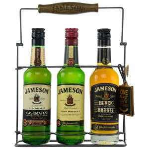 Jameson Tri-Pack 3x200ml (Original, Caskmates, Black Barrel)