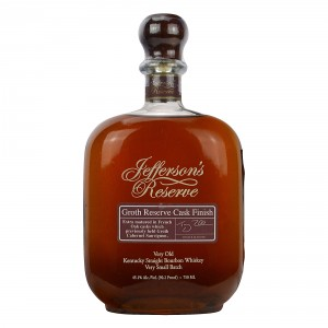 Jefferson's Reserve Groth Reserve Cask Finish Kentucky Straight Bourbon Whiskey (USA: Bourbon)