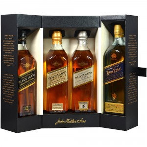 Johnnie Walker Collection (4x200ml)