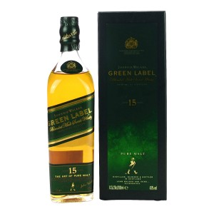 Johnnie Walker Green Label 15 Jahre (200ml)