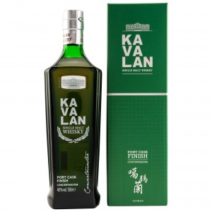 Kavalan Concertmaster Port Cask Finish - 500ml