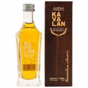 Kavalan Classic Single Malt (Miniatur)