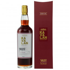 Kavalan Solist Sherry Cask Single Malt 59,4%