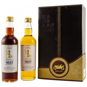 Kavalan Single Malt Collection 2 x 0,2 Liter (Ex-Bourbon Cask / Sherry Cask)
