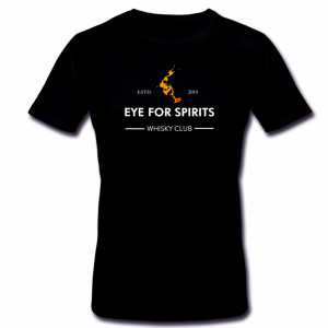 T-Shirt Eye for Spirits Whisky Club (schwarz)